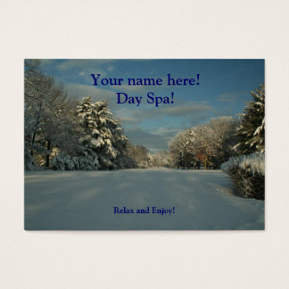 Day Spa business Cards!