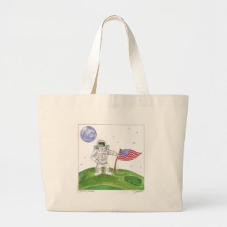 Day Thirty four - One Giant leap for an Apple Jumbo Tote Bag
