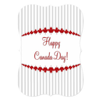Day To Remember Canada Day Party Invitation