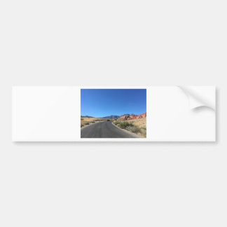 Day trip through Red Rock National Park Bumper Sticker