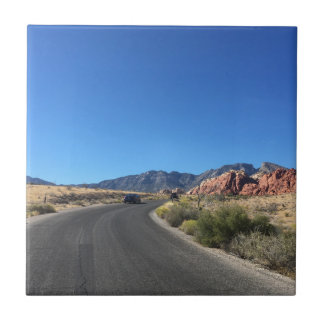 Day trip through Red Rock National Park Ceramic Tile