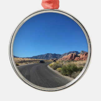 Day trip through Red Rock National Park Metal Ornament