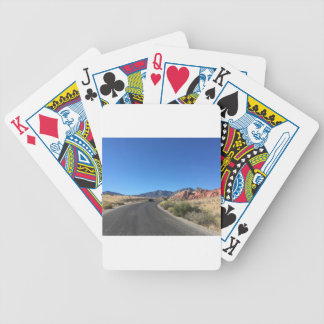 Day trip through Red Rock National Park Poker Deck