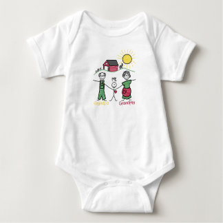 Day with the Grandparent's - Baby Bodysuit