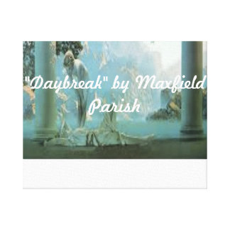 """""""Daybreak"""" by Maxfield parish wrapped canvas Gallery Wrap Canvas"""