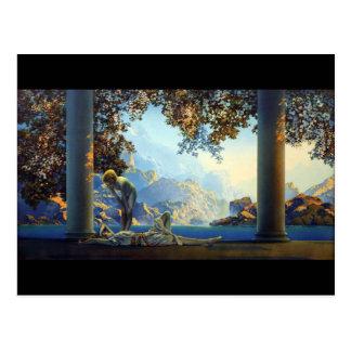 Daybreak Maxfield Parrish Postcard