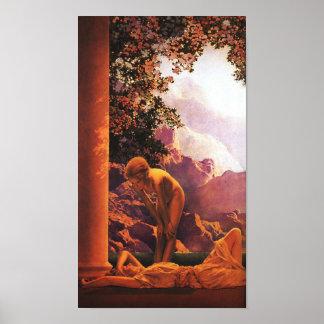 Daybreak, Maxfield Parrish Print