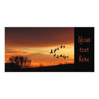 Daybreak Customised Photo Card