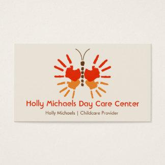 Daycare / Babysitter Butterfly Handprints