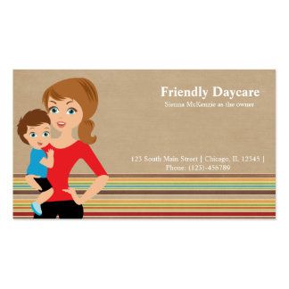 Daycare Business Card Template