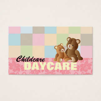 Daycare business cards template