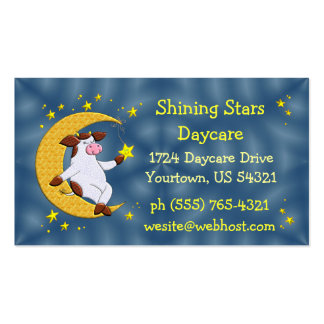 Daycare Center Double-Sided Standard Business Cards (Pack Of 100)