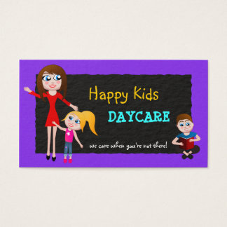 Daycare, Child Care, Babysitting Business Cards