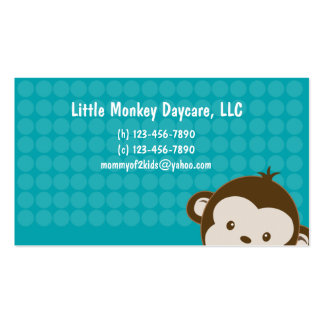 Daycare child care babysitting Mommy calling card Business Card Templates