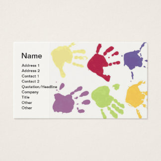 Daycare Hands Business Card