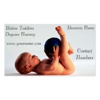 Daycare Nursery Business Card