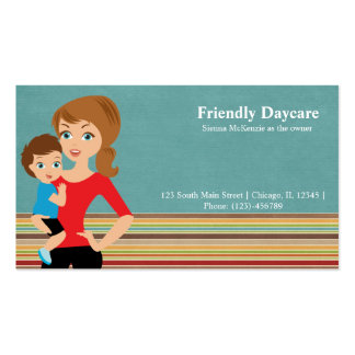 Daycare Pack Of Standard Business Cards