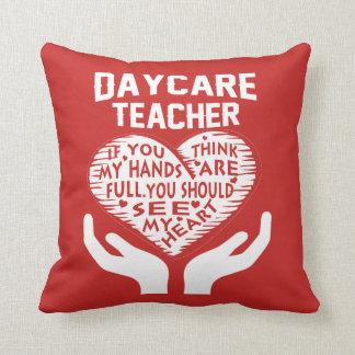 Daycare Teacher Cushion