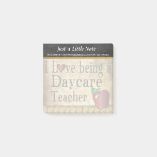 Daycare Teacher | Vintage Style Post-it Notes