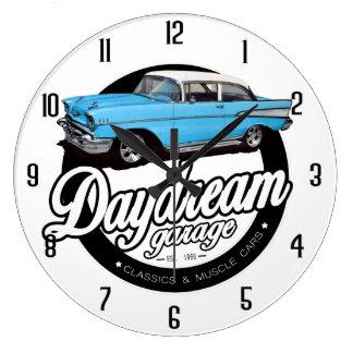 Daydream Garage Large Clock