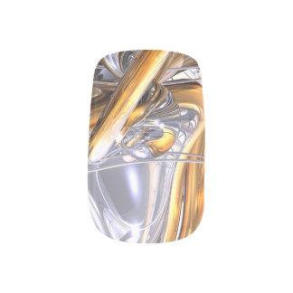 Daydreamers Abstract Minx Nail Art