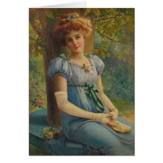 Daydreaming Lady, Card