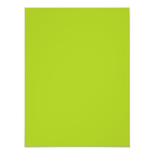 Dayglow Lime Green Color Trend Blank Template Photograph