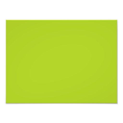 Dayglow Lime Green Color Trend Blank Template Photographic Print