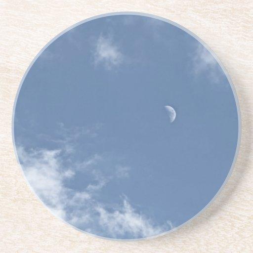 Daylight Moon Drink Coaster
