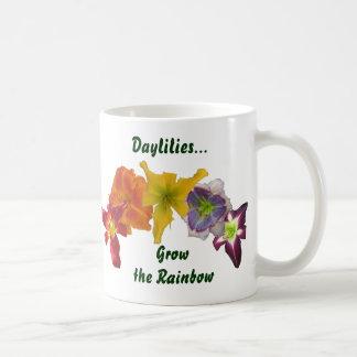 Daylilies Grow the Rainbow Coffee Mug