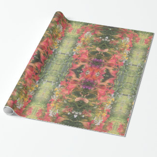 DAYLILIES IN THE GARDEN WRAPPING PAPER