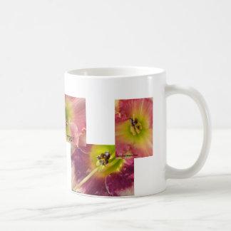 Daylily closeup coffee mug