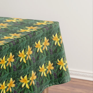 "DAYLILY ""Downey"" Duo --- ECHO Print. Tablecloth"
