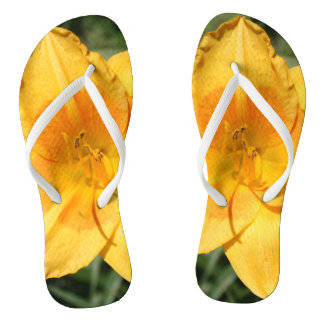 Daylily Flip Flops for Adults