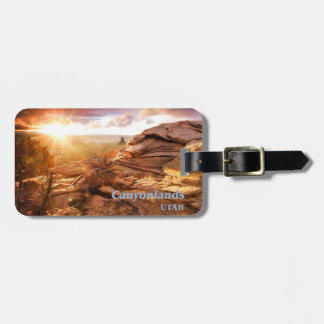 Days End Candlestick Tower Overlook Canyonlands NP Luggage Tag
