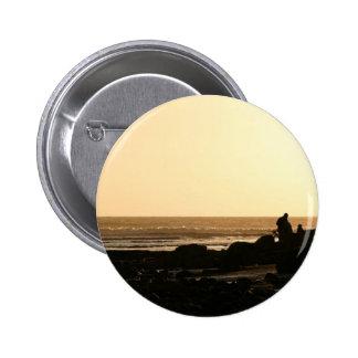 Days End Pinback Button