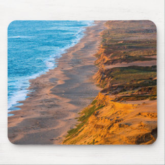 Days Last Light Strikes The Sandy Shore Of Point Mouse Pad