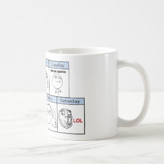 Days of the Week Memes Coffee Mug
