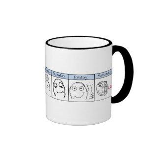 Days of the Week Memes Coffee Mugs