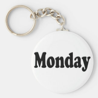 Days of the Week - Monday Key Ring