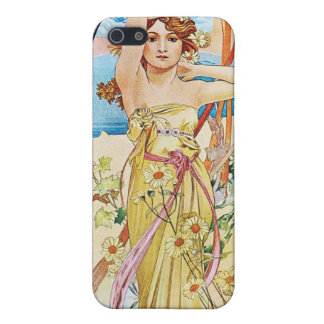 Daytime, Alphonse Mucha iPhone 5/5S Covers