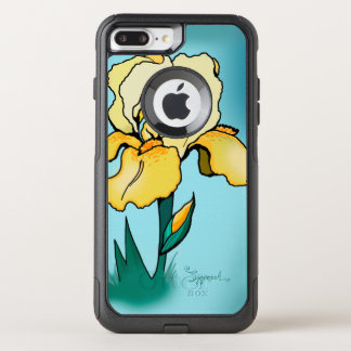 Daytime Iris Cute Floral OtterBox Commuter iPhone 8 Plus/7 Plus Case