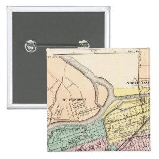 Dayton, Ohio 15 Cm Square Badge