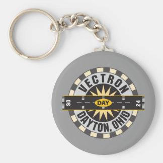 Dayton Ohio DAY Airport Basic Round Button Key Ring