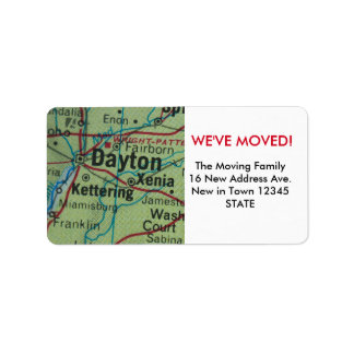 Dayton We've Moved label