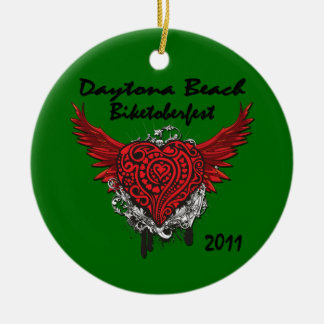 Daytona Beach Biktoberfest 2011 Ornament