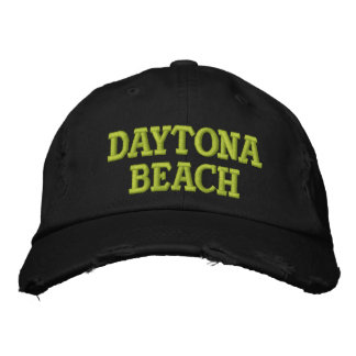 DAYTONA BEACH EMBROIDERED CAP