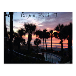 Daytona Beach, FL Sunrise Postcard