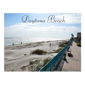 Daytona Beach Florida Photograph Postcard Keepsake