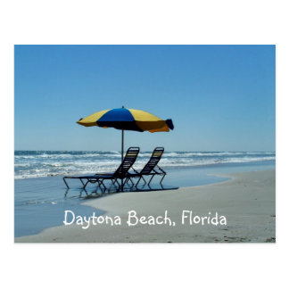 Daytona Beach Florida Photography Postcard